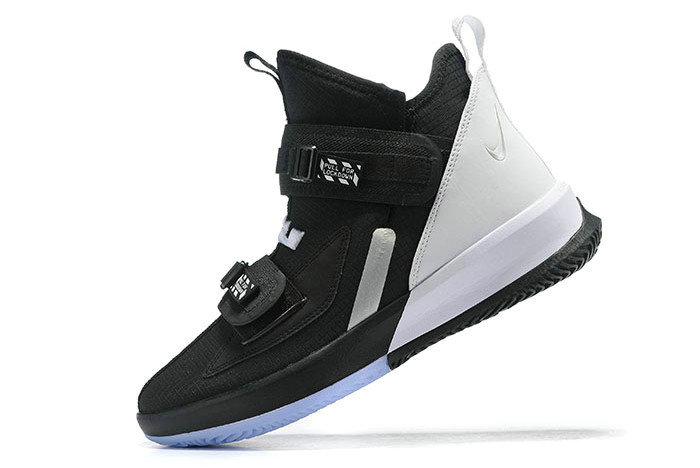 Where To Buy 2020 Nike LeBron Soldier 13 Black White For Sale - www.wholesaleflyknit.com