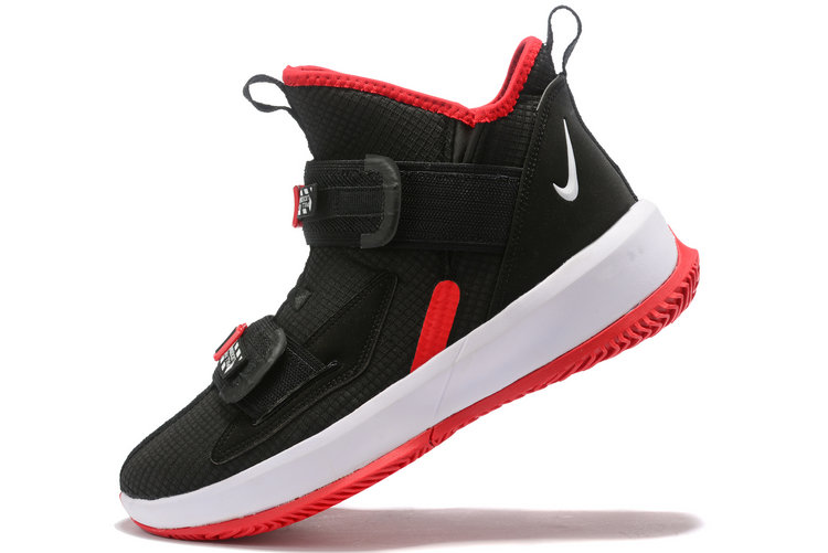 Where To Buy 2020 Nike LeBron Soldier 13 Bred AR4228-003 For Sale - www.wholesaleflyknit.com