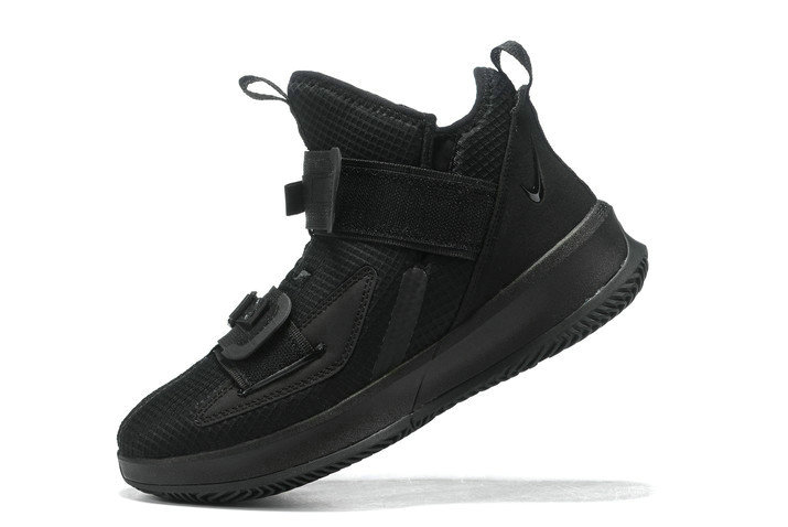 Where To Buy 2020 Nike LeBron Soldier 13 Triple Black For Sale - www.wholesaleflyknit.com