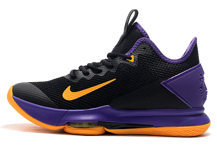 Where To Buy 2020 Nike LeBron Witness 4 Black Yellow-Purple For Sale - www.wholesaleflyknit.com