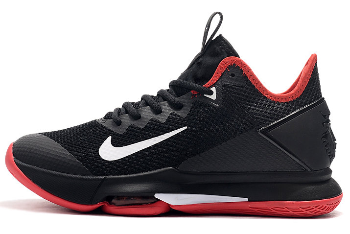 Where To Buy 2020 Nike LeBron Witness 4 Bred Black Varsity Red-White For Sale - www.wholesaleflyknit.com