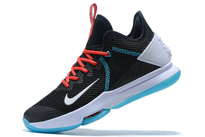 Where To Buy 2020 Nike LeBron Witness 4 IV EP BHM Black Red Blue White For Sale - www.wholesaleflyknit.com