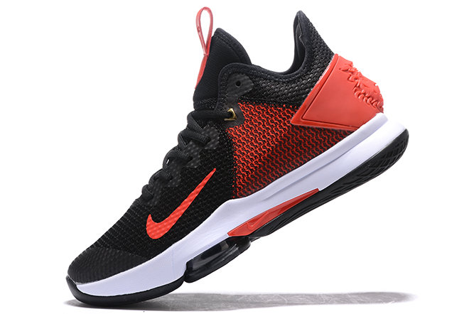 Where To Buy 2020 Nike LeBron Witness 4 IV EP Black Gym Red-White For Sale - www.wholesaleflyknit.com