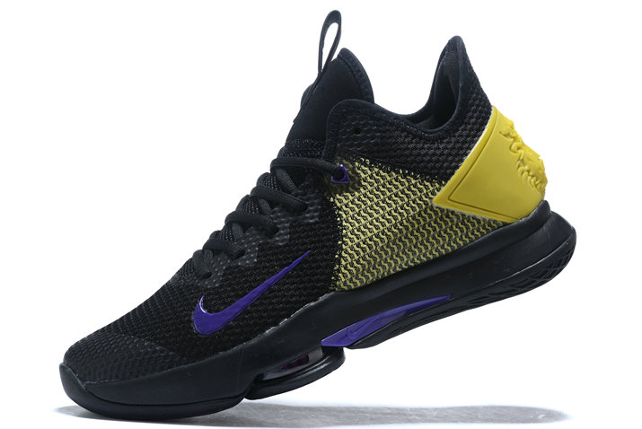 Where To Buy 2020 Nike LeBron Witness 4 IV EP Black Opti Yellow-Voltage Purple CD0188-004 - www.wholesaleflyknit.com