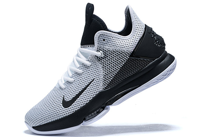 Where To Buy 2020 Nike LeBron Witness 4 IV EP White Black For Sale - www.wholesaleflyknit.com