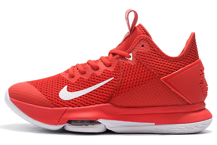 Where To Buy 2020 Nike LeBron Witness 4 University Red White For Sale - www.wholesaleflyknit.com