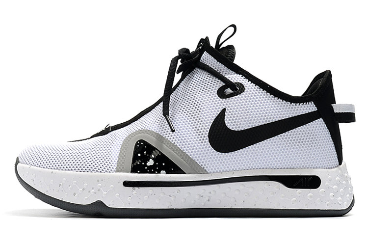 Where To Buy 2020 Nike PG 4 Oreo White Black For Sale - www.wholesaleflyknit.com