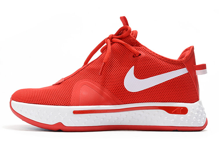 Where To Buy 2020 Nike PG 4 University Red White For Sale - www.wholesaleflyknit.com