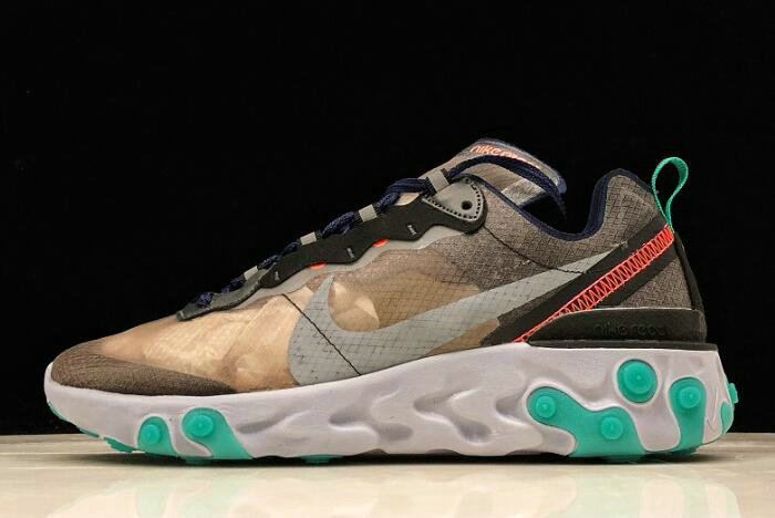 Where To Buy 2020 Nike React Element 87 Neptune Green AQ1090-005 For Sale - www.wholesaleflyknit.com