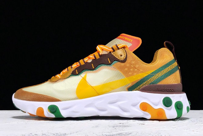 Where To Buy 2020 Nike React Element 87 Pale Ivory CJ6897113 For Cheap - www.wholesaleflyknit.com