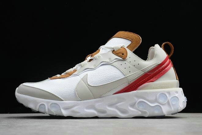 Where To Buy 2020 Nike React Element 87 Sail Light Bone-White AQ1090-101 - www.wholesaleflyknit.com