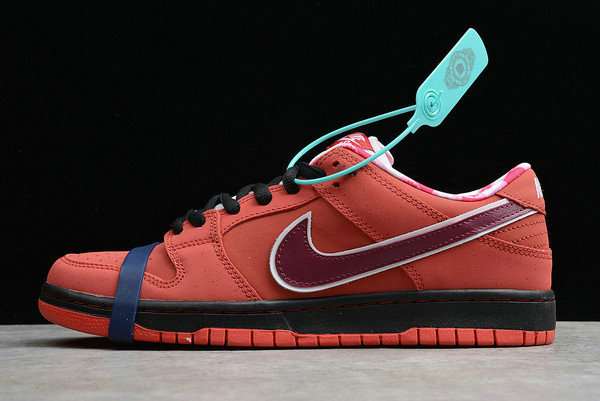 Where To Buy 2020 Nike SB Dunk Low Premium Lobster Sport Red Pink Clay 313170-661 - www.wholesaleflyknit.com