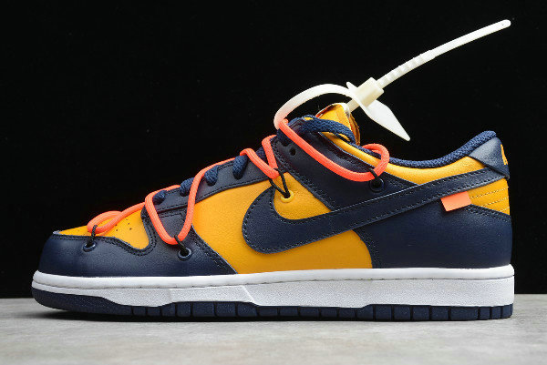 Where To Buy 2020 Off-White x Nike Dunk Low University Gold CT0856-700 - www.wholesaleflyknit.com