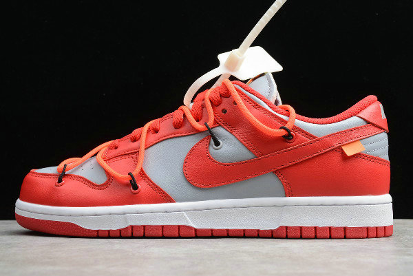 Where To Buy 2020 Off-White x Nike Dunk Low University Red CT0856-600 - www.wholesaleflyknit.com