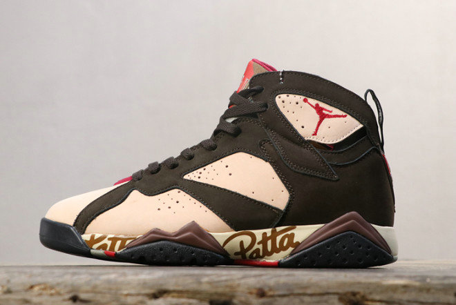 Where To Buy 2020 Patta x Air Jordan 7 OG SP Shimmer Mahogany Mink-Velvet Brown-Tough Red AT3375-200 - www.wholesaleflyknit.com