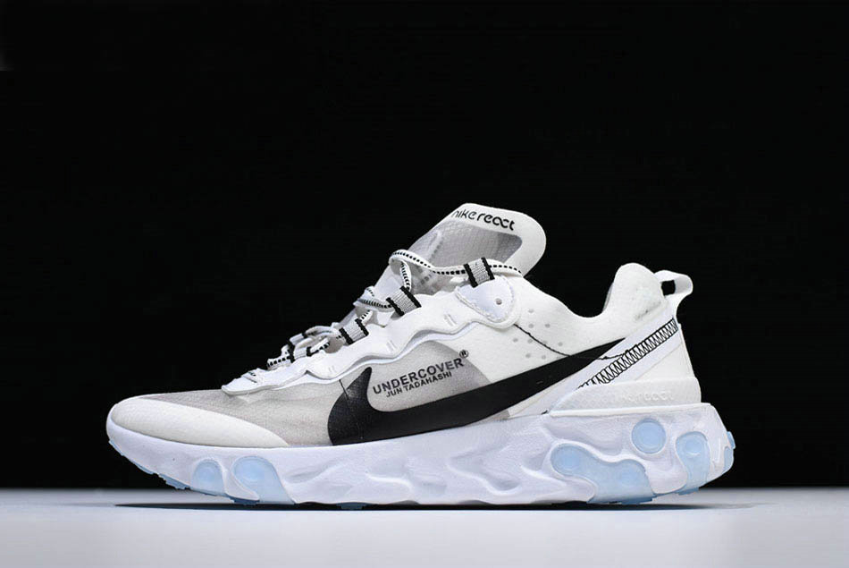 Where To Buy 2020 Undercover x Nike React Element 87 White Grey Black Shoes Free Shipping - www.wholesaleflyknit.com