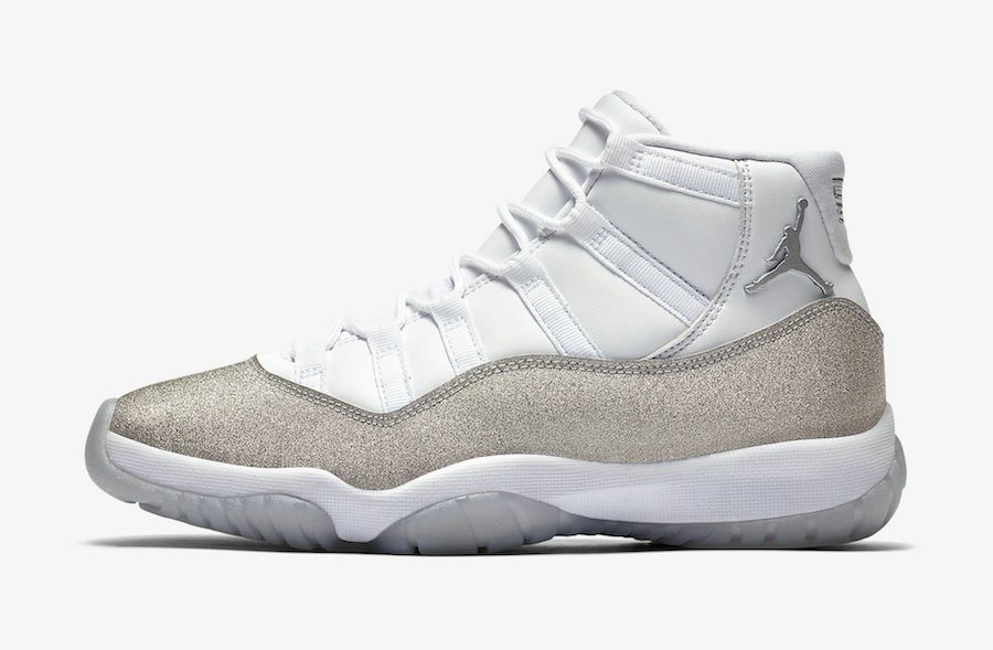 2020 Womens Cheap Wholesale Nike Air Jordan 11 White Metallic Silver-Vast Grey AR0715-100 - www.wholesaleflyknit.com