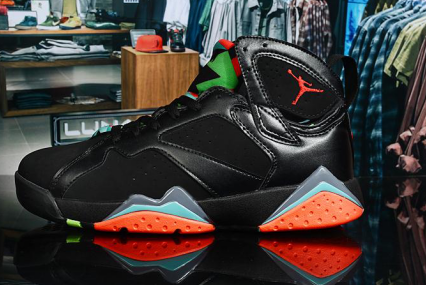 2020 Womens Cheap Wholesale Nike Air Jordan 7 Retro Marvin The Martian Black Red 304775-029 - www.wholesaleflyknit.com