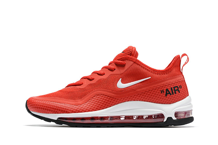 2020 Womens Cheap Wholesale Nike Air Max 97 Red Black White - www.wholesaleflyknit.com