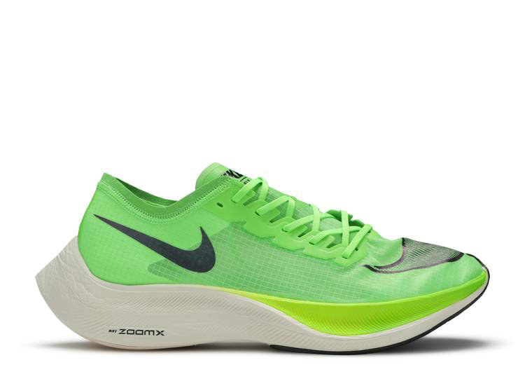 2020 Womens Cheap Wholesale Nike Air Zoom Alphafly Next Electric Green Black Guava Ice AO4568-300 - www.wholesaleflyknit.com