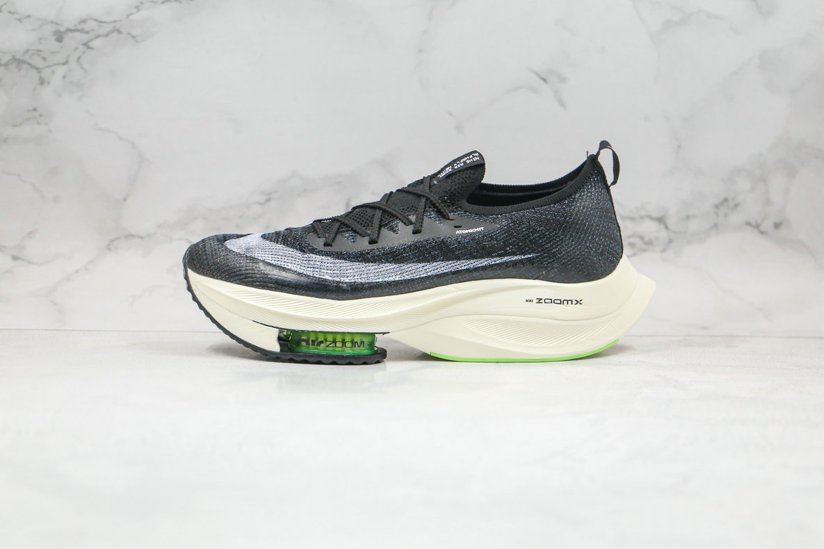 2020 Womens Cheapest Nike Air Zoom Alphafly NEXT Black White CI9925-018 - www.wholesaleflyknit.com