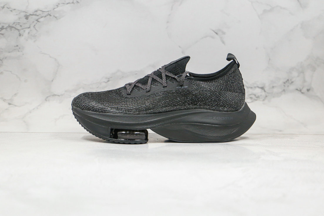 2020 Womens Cheapest Nike Air Zoom Alphafly NEXT Triple Black CI9925-001 - www.wholesaleflyknit.com