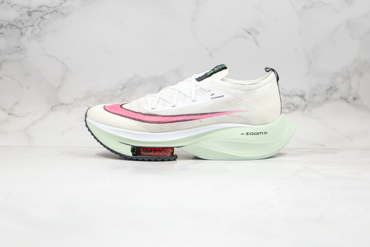 2020 Womens Cheapest Nike Air Zoom Alphafly NEXT Watermelon CI9925-100 - www.wholesaleflyknit.com