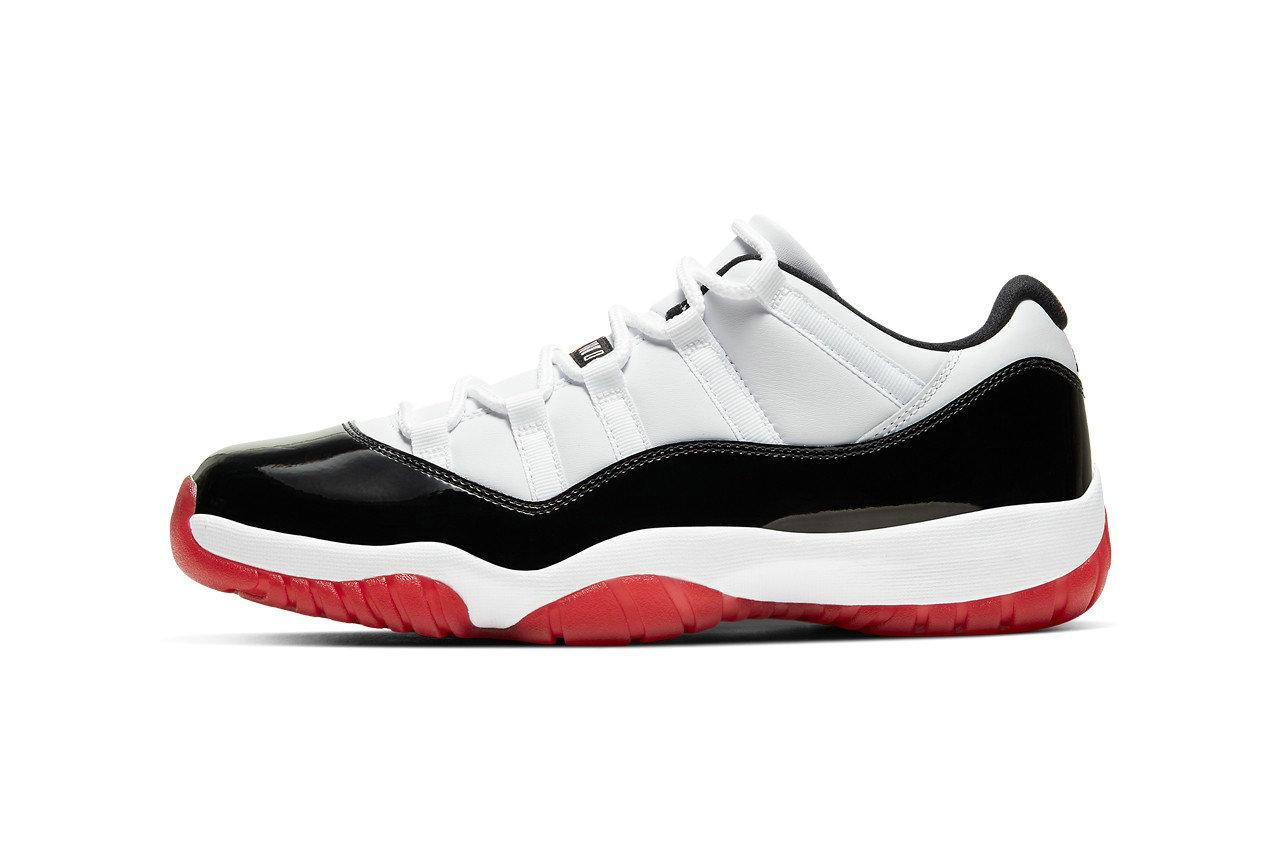 2021 Wholesale Cheap Nike Air Jordan 11 Low Concord Bred Bulls AV2187-160 - www.wholesaleflyknit.com