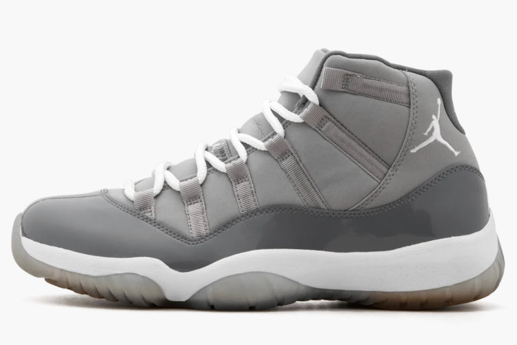 2021 Wholesale Cheap Nike Air Jordan 11 Retro Medium Grey White-Cool Grey 378037-001 - www.wholesaleflyknit.com