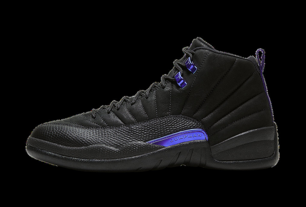 2021 Wholesale Cheap Nike Air Jordan 12 Dark Concord Black-Black-Dark Concord CT8013-005 - www.wholesaleflyknit.com