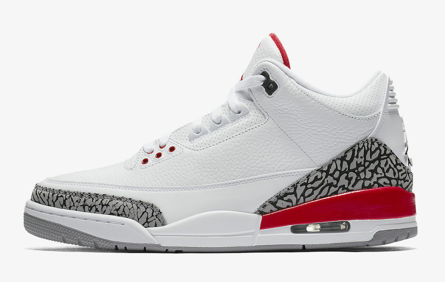 2021 Wholesale Cheap Nike Air Jordan 3 Katrina White Cement Grey Black-Fire Red 136064-116 - www.wholesaleflyknit.com