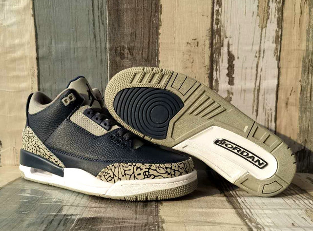 2021 Wholesale Cheap Nike Air Jordan 3 Metallic Gold Black - www.wholesaleflyknit.com