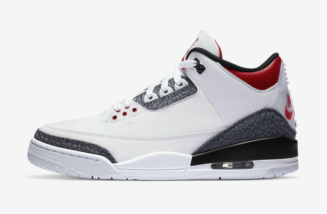 2021 Wholesale Cheap Nike Air Jordan 3 SE Denim White Fire Red-Black CZ6433-100 - www.wholesaleflyknit.com