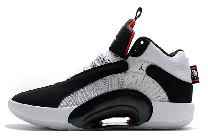 2021 Wholesale Cheap Nike Air Jordan 35 DNA Black White-Fire Red - www.wholesaleflyknit.com