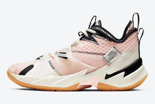 2021 Wholesale Cheap Nike Air Jordan Why Not Zer0.3 Washed Coral CD3003-600 - www.wholesaleflyknit.com