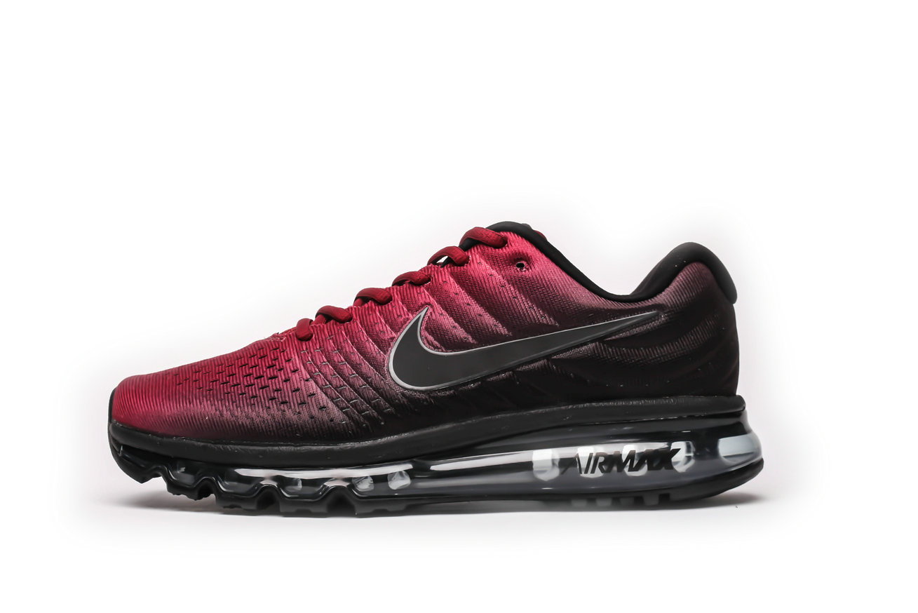 2021 Wholesale Cheap Nike Air Max 2017 Classic Red Black - www.wholesaleflyknit.com