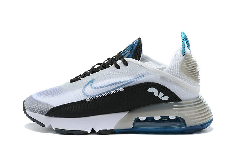 2021 Wholesale Cheap Nike Air Max 2090 Black Blue White - www.wholesaleflyknit.com