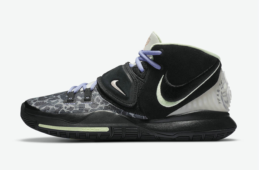 2021 Wholesale Cheap Nike Kyrie 6 Asia Irving Black Multi-Color CD5031-001 - www.wholesaleflyknit.com