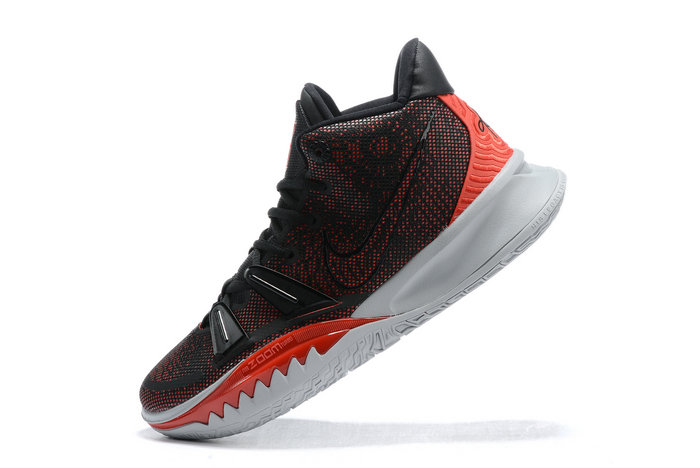 2021 Wholesale Cheap Nike Kyrie 7 Black University Red-White - www.wholesaleflyknit.com
