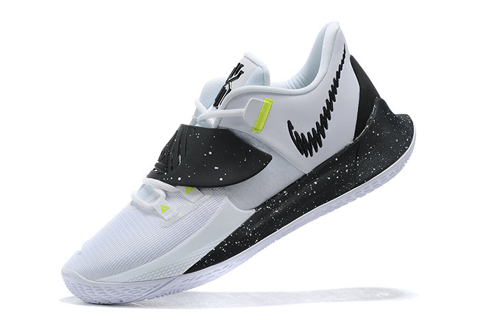 2021 Wholesale Cheap Nike Kyrie Low 3 White Black-Volt - www.wholesaleflyknit.com