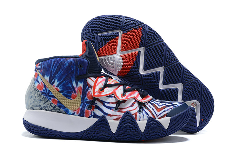 2021 Wholesale Cheap Nike Kyrie S2 Hybrid Royal Blue Red Gold White - www.wholesaleflyknit.com
