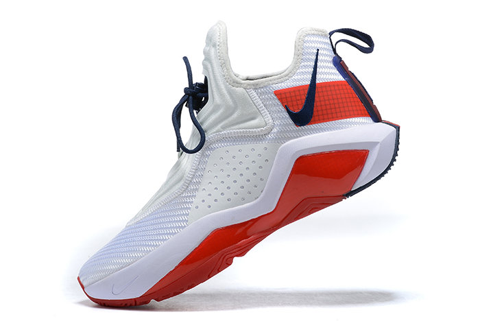 2021 Wholesale Cheap Nike Lebron Soldier 14 White Red CK6024-100 - www.wholesaleflyknit.com
