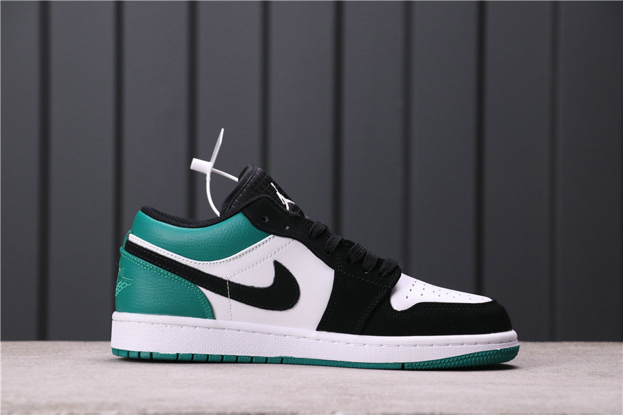 2021 Where To Buy Wholesale Cheap Air Jordan 1 Low Mystic Green White Black-Mystic Green 553558-113 - www.wholesaleflyknit.com