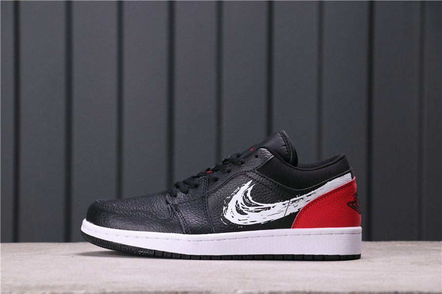 2021 Where To Buy Wholesale Cheap Air Jordan 1 Low Summit White Black University Red Shoes CZ4656-001 - www.wholesaleflyknit.com