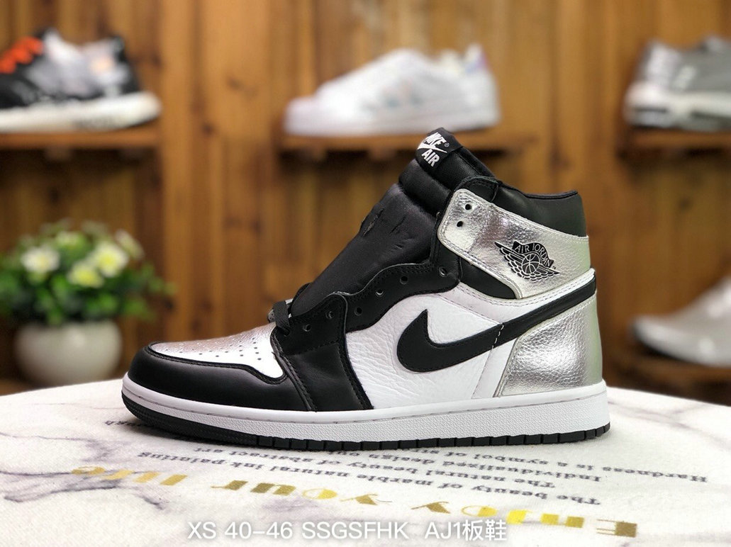 2021 Where To Buy Wholesale Cheap Air Jordan 1 OG Chicago Metallic Silver Grey Black White DC0461 001 - www.wholesaleflyknit.com
