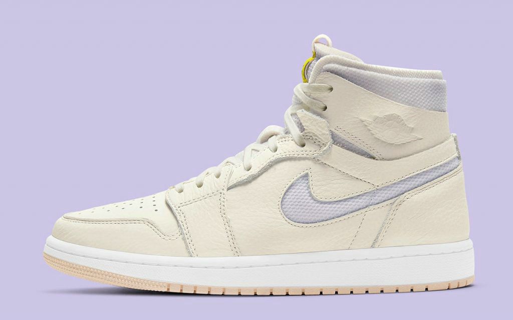 2021 Where To Buy Wholesale Cheap Air Jordan 1 Zoom CMFT Sail Pearl White-White-Light Voltage Yellow CT0979-107 - www.wholesaleflyknit.com