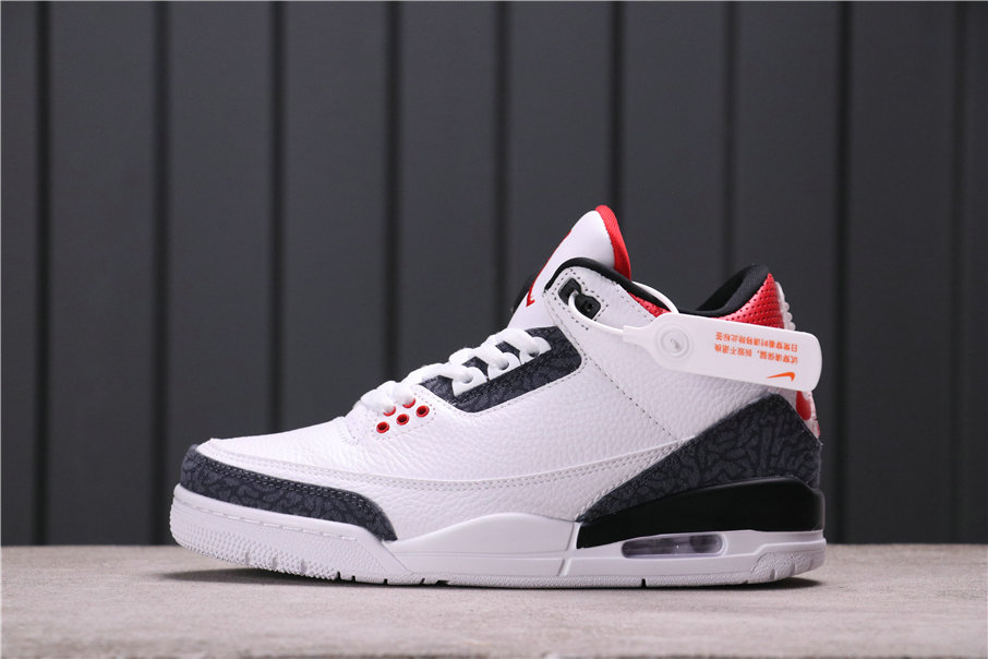 2021 Where To Buy Wholesale Cheap Air Jordan 3 SE Denim Fire Red CZ6431-100 CZ6433-100 - www.wholesaleflyknit.com