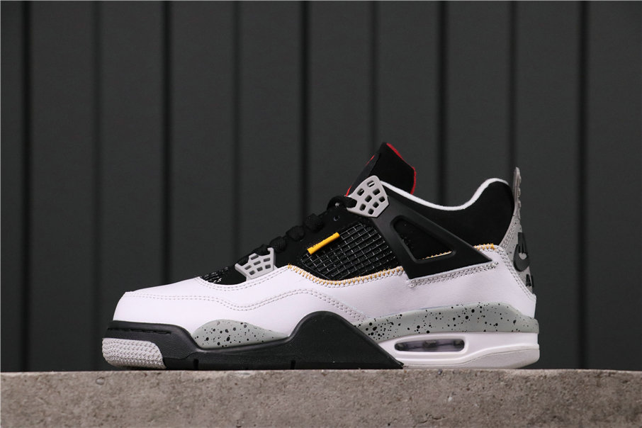 2021 Where To Buy Wholesale Cheap Air Jordan 4 Retro Pure Money White Black 840606-316 - www.wholesaleflyknit.com
