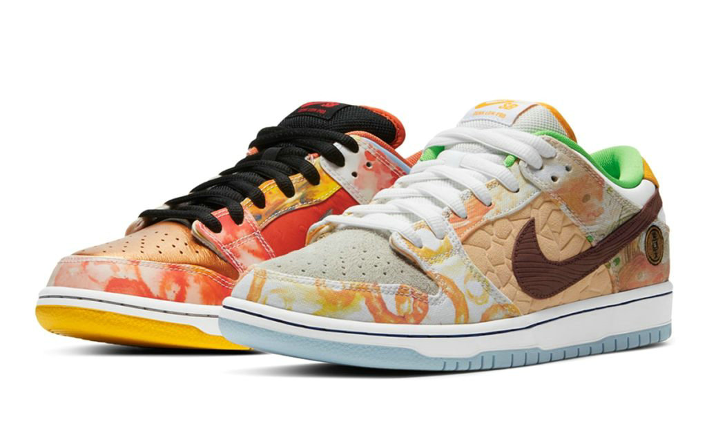 2021 Where To Buy Wholesale Cheap Jason Deng x Nike SB Dunk Low Street Hawker Metallic Copper Light Silver Pueblo Brown Metallic Silver CV1628-800 - www.wholesaleflyknit.com