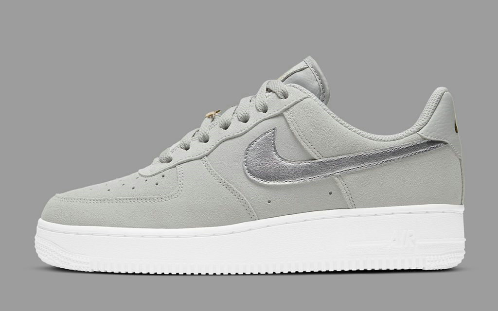 2021 Where To Buy Wholesale Cheap Nike Air Force 1 Elegant Metallic Gold Silver DC4458-001 - www.wholesaleflyknit.com